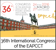 36 Congress EAPCCT Madrid